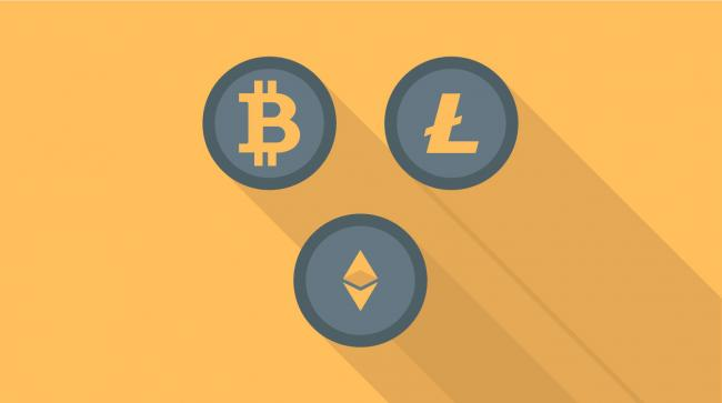 bitcoin ethereum litecoin cryptomonnaies