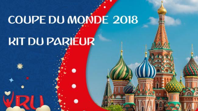 Kit du parieur Coupe du Monde 2018